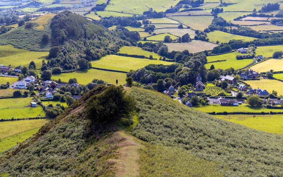 the Offas Dyke path - Chris Griffiths