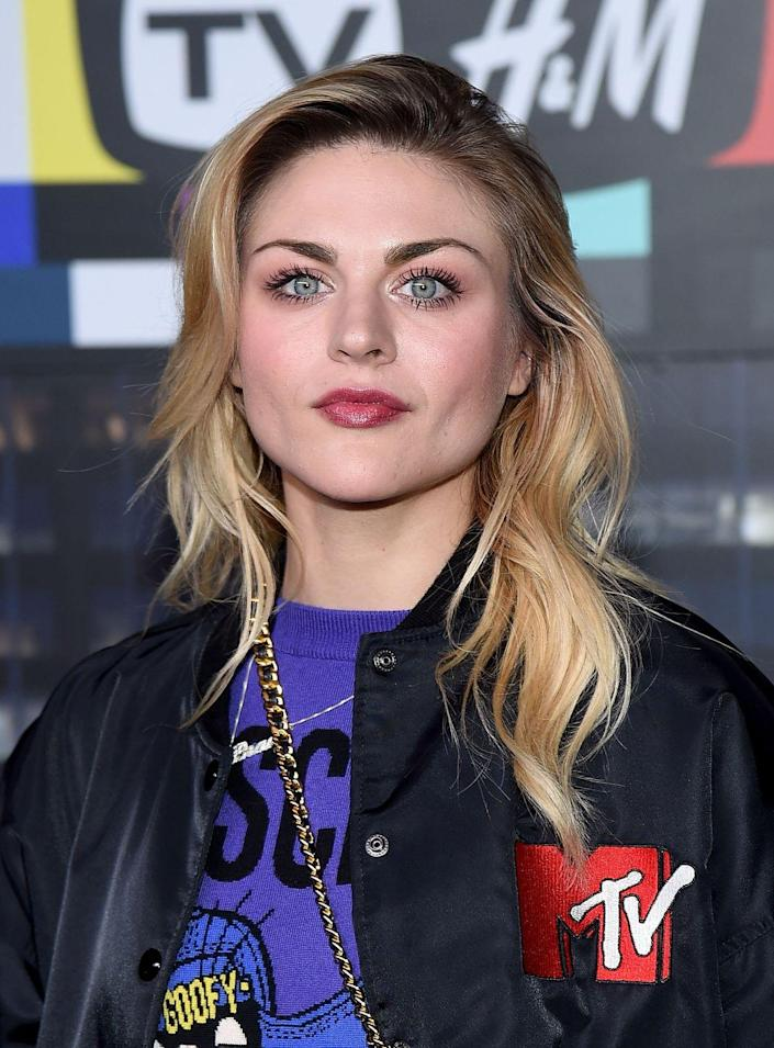 "<p>Now 27, Frances Bean works as a visual artist and model, appearing in a <a href=""http://people.com/style/frances-bean-cobain-graffiti-her-own-marc-jacobs-billboard/"" rel=""nofollow noopener"" target=""_blank"" data-ylk=""slk:Marc Jacobs ad campaign"" class=""link rapid-noclick-resp"">Marc Jacobs ad campaign</a>.</p>"