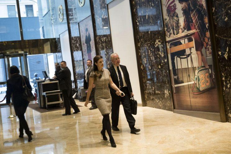 Rep. Tom Price, R-Ga., arrives at Trump Tower last month. (Photo: Drew Angerer/Getty Images)