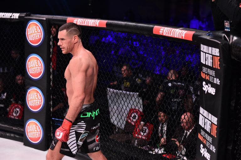 Rafael Lovato Jr is the new Bellator middleweight champion after securing a hard fought points victory over Gegard Mousasi at Bellator London.The pair headlined a stacked card at the SSE Arena, Wembley, in a bout that was originally scheduled to take place back in January, before a back injury sidelined pound-for-pound great Mousasi.Lovato Jr was made to wait for his shot at world title gold, but his patience paid off, securing the decision to beat middleweight great Mousasi, who suffered the seventh defeat of a 54-fight career. On the undercard, former Geordie Shore star Aaron Chalmers bounced back from a career first defeat to Corey Browning last time out with a dominant victory over Fred Freeman. The 32-year-old went 5-1 after submitting his opponent via triangle chokehold.Paul Daley recorded another win in what was his 60th professional MMA bout against Erick Silva. 'Semtex' landed some of the shots of the evening - including a stunning heel kick - en route to sealing a points win.After a fiery build-up during fight week in London, James Gallagher racked up win number nine with a decision victory over Jerimiah Labiano.The Irish fighter was perhaps given a sterner test than many anticipated with, getting the win on the judges' scorecards after a very close contest. Fabian Edwards, one of MMA's brightest middleweight prospects, extended his professional record to 8-0 with an unanimious victory over Jonathan Bosuku.