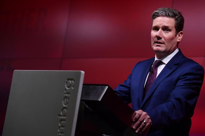 Labour's Shadow Secretary of State for Exiting the European Union Keir Starmer: AFP/Getty Images