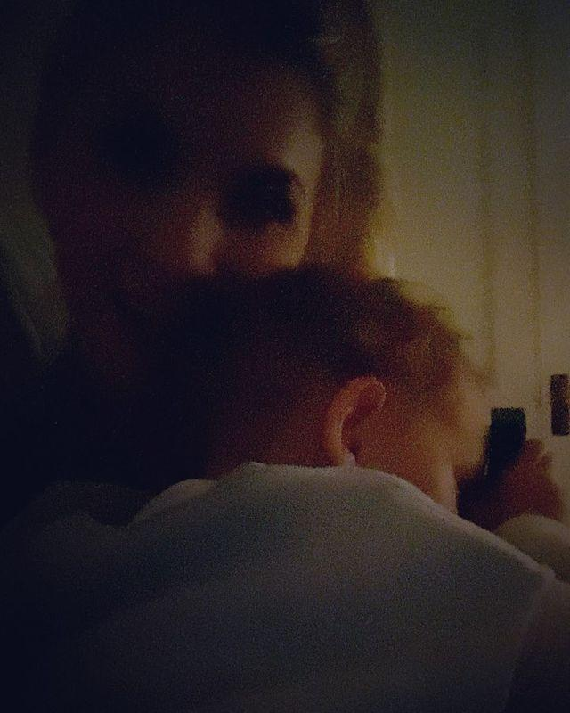 """<p>In this clip and caption, the mom shared the backstory behind why the song """"Our House"""" has made bedtime her favorite time with Elvis.</p>"""