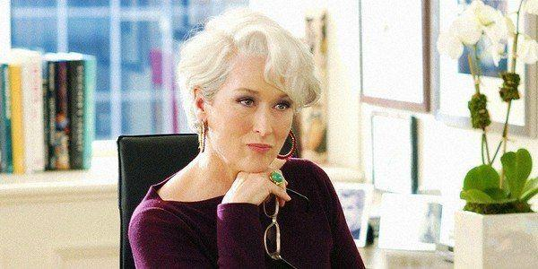 """<p> The boss that everyone was pee-your-pants terrified of (but also still kinda wanted to work for) was played by the queen Meryl herself. Meryl tried to stay method while playing Miranda Priestly and she recently told <em><a href=""""https://people.com/movies/meryl-streep-was-depressed-playing-miranda-priestly-the-devil-wears-prada-method-acting/"""" rel=""""nofollow noopener"""" target=""""_blank"""" data-ylk=""""slk:People"""" class=""""link rapid-noclick-resp"""">People</a> </em>that staying in character in between takes alone in her trailer made her depressed.</p>"""