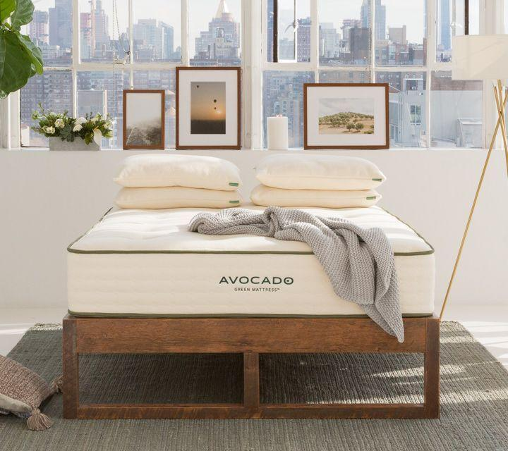 "<p><strong>Avocado</strong></p><p>avocadogreenmattress.com</p><p><strong>$1499.00</strong></p><p><a href=""https://go.redirectingat.com?id=74968X1596630&url=https%3A%2F%2Fwww.avocadogreenmattress.com%2Fshop%2Favocado-mattress&sref=https%3A%2F%2Fwww.goodhousekeeping.com%2Fhome-products%2Fg29892090%2Fbest-mattresses%2F"" rel=""nofollow noopener"" target=""_blank"" data-ylk=""slk:Shop Now"" class=""link rapid-noclick-resp"">Shop Now</a></p><p><em><em>•</em></em> <strong>Height</strong><strong>:</strong> 11"" (or 13"" with pillowtop)<br><em><em>•</em></em> <strong>Firmness level</strong><strong>: </strong>Gentle Firm<br><em><em>•</em></em> <strong>Sizes</strong><strong>:</strong> Twin, Twin XL, Full, Queen, King, California King </p><p>If you prefer to skip foam and synthetic fabrics, this mattress is made of natural and organic materials like wool, cotton and latex (a natural foam from the rubber tree). It's also certified by the Global Organic Latex Standard (GOLS) and <a href=""https://global-standard.org/"" rel=""nofollow noopener"" target=""_blank"" data-ylk=""slk:Global Organic Textile Standard (GOTS)"" class=""link rapid-noclick-resp"">Global Organic Textile Standard (GOTS)</a> so you know<strong> the <em>entire</em> manufacturing process follows strict guidelines on the materials and ingredients used.</strong> It also has coils for support that are ergonomically laid out for proper alignment and added edge support so it won't sink at the sides. And if you prefer an option without wool, the brand also sells a <a href=""https://go.redirectingat.com?id=74968X1596630&url=https%3A%2F%2Fwww.avocadogreenmattress.com%2Fshop%2Favocado-vegan-mattress&sref=https%3A%2F%2Fwww.goodhousekeeping.com%2Fhome-products%2Fg29892090%2Fbest-mattresses%2F"" rel=""nofollow noopener"" target=""_blank"" data-ylk=""slk:vegan version"" class=""link rapid-noclick-resp"">vegan version</a>.</p><p>The best part is that you don't have to sacrifice performance for an <a href=""https://www.goodhousekeeping.com/home-products/g34383668/best-organic-mattresses/"" rel=""nofollow noopener"" target=""_blank"" data-ylk=""slk:organic mattress"" class=""link rapid-noclick-resp"">organic mattress</a>. Users love sleeping on it and told us it keeps their body weight evenly distributed. They also told us the brand's customer service is stellar and they had no issues to report. It's on the firmer side, but you can opt for a pillow-top for an extra cost that'll make it feel more plush. </p>"