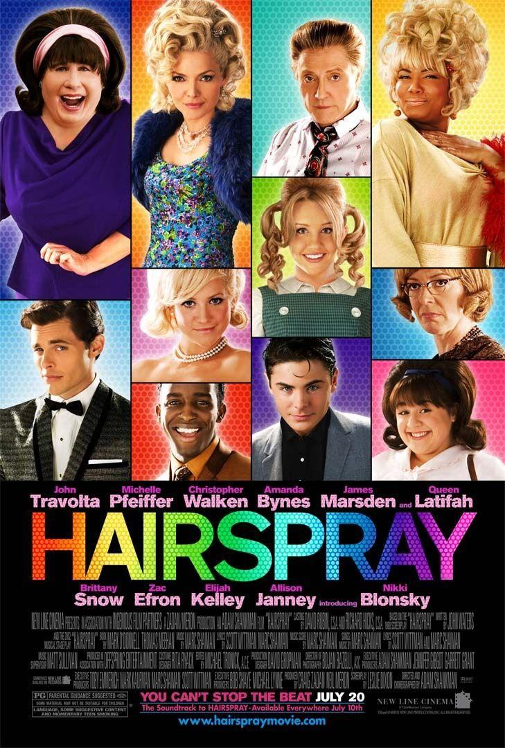 """<p>The original John Waters 1988 <em>Hairspray, </em>starring Ricki Lake, was a fantastic film, but this adaptation of the Broadway musical takes the cake. A Baltimore high schooler (Nikki Blonsky) in the '60s fights for integration while auditioning to be a dancer on her favorite local TV show. It's best to just assume at this point that any musical involving Queen Latifah is going to be amazing. And we're never mad at a Zac Efron movie.</p><p><a class=""""link rapid-noclick-resp"""" href=""""https://www.amazon.com/Hairspray-John-Travolta/dp/B000ZIYJ2C/ref=sr_1_3?tag=syn-yahoo-20&ascsubtag=%5Bartid%7C10072.g.27734413%5Bsrc%7Cyahoo-us"""" rel=""""nofollow noopener"""" target=""""_blank"""" data-ylk=""""slk:WATCH NOW"""">WATCH NOW</a></p>"""
