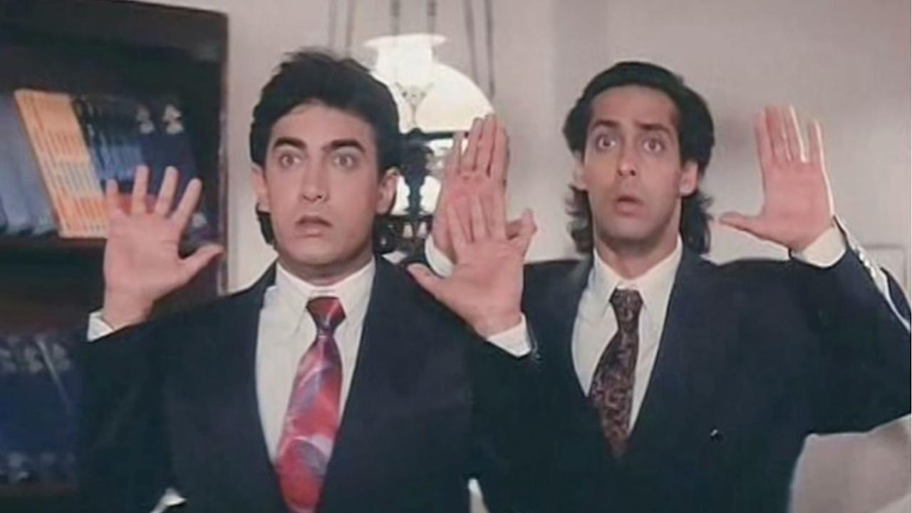 One of the best comedies of India cinema that we all have seen multiple times was an utter box office failure. Shocked to know that? Be it the duo's perfect comic timings, Shakti Kapoor's legendary dialogue '<em>Aankhein nikal ke gotiya khelunga' </em>or the confusion created by Paresh Rawal's double roles - none could impress the audience.<em>  </em>Thank private television channels for the cult status this Salman-Aamir starer has risen to now.
