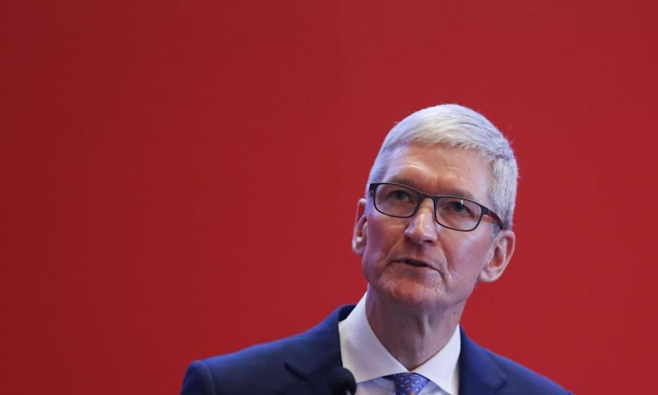 Tim Cook: 'We could make a ton of money if we monetized our customers, if our customers were our product. We've elected not to do that. Privacy to us is a human right.'