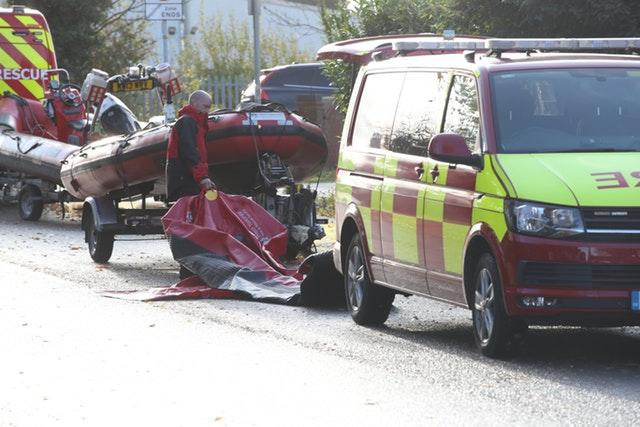 Emergency services at Kirk Sandall