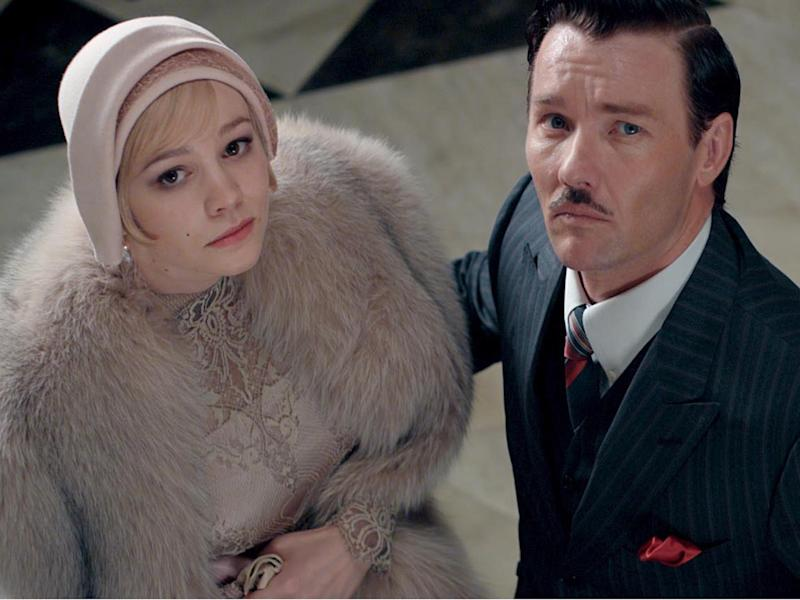 Daisy (played by Carey Mulligan) and Tom (Joel Edgerton) shared some traits – selfishness and a love of material things chiefly among themRex Features