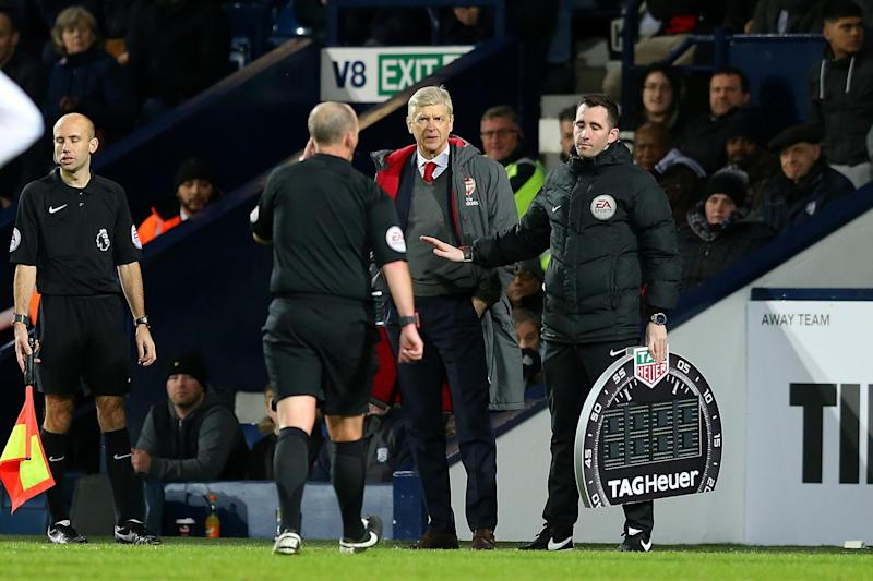 Gunning for change | Wenger says it's time officiating in England took a step forward: Jan Kruger/Getty Images