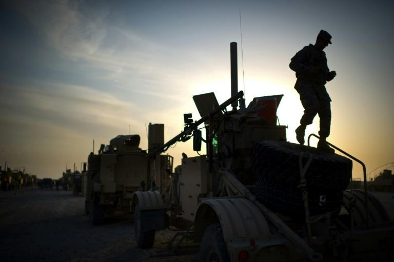 Im 2011, the last US convoy to leave Iraq departed from Camp Adder on the outskirts of the southern city of Nasiriyah