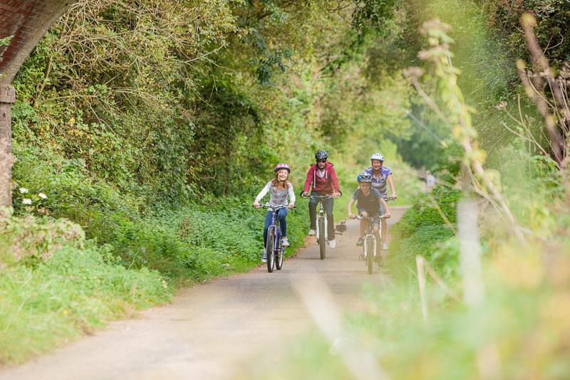 Cycling [Photo: Slow Wight Travel Guide]