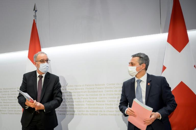 Swiss President Guy Parmelin said 13 years of talks had hit the end of the road, in a move which could jeopardise relations with the EU