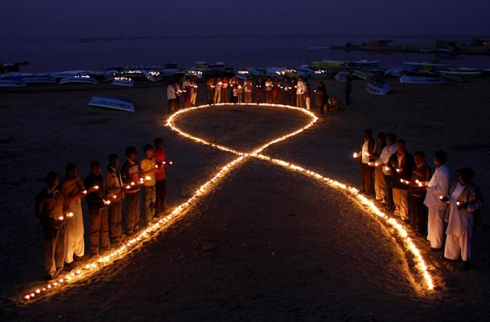 More than 39 million people have died from HIV-AIDS since the virus was first discovered in 1981 (AFP Photo/)