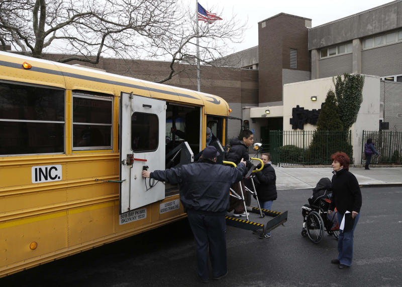 NYC school bus drivers, matrons go on strike