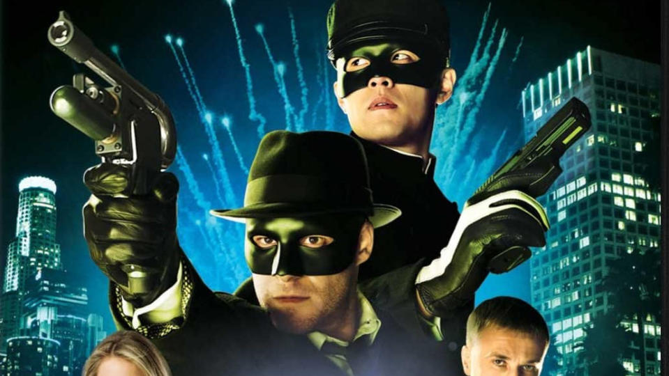 Seth Rogen portrayed the title character in 2011 film 'The Green Hornet'. (Credit: Sony)
