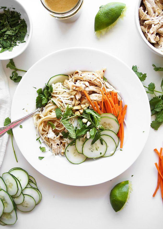 """<p>Brown butter is the most magical thing in the whole world — and this chicken gets to take a bath in it. Do you need any more convincing to make these noodles?</p><p><a href=""""http://www.thekitchenpaper.com/cold-sesame-peanut-noodles-with-brown-butter-chicken/"""" rel=""""nofollow noopener"""" target=""""_blank"""" data-ylk=""""slk:Get the recipe from The Kitchen Paper »"""" class=""""link rapid-noclick-resp""""><em>Get the recipe from The Kitchen Paper »</em></a><br></p>"""