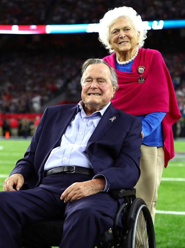George and Barbara Bush (Photo: Getty Images)