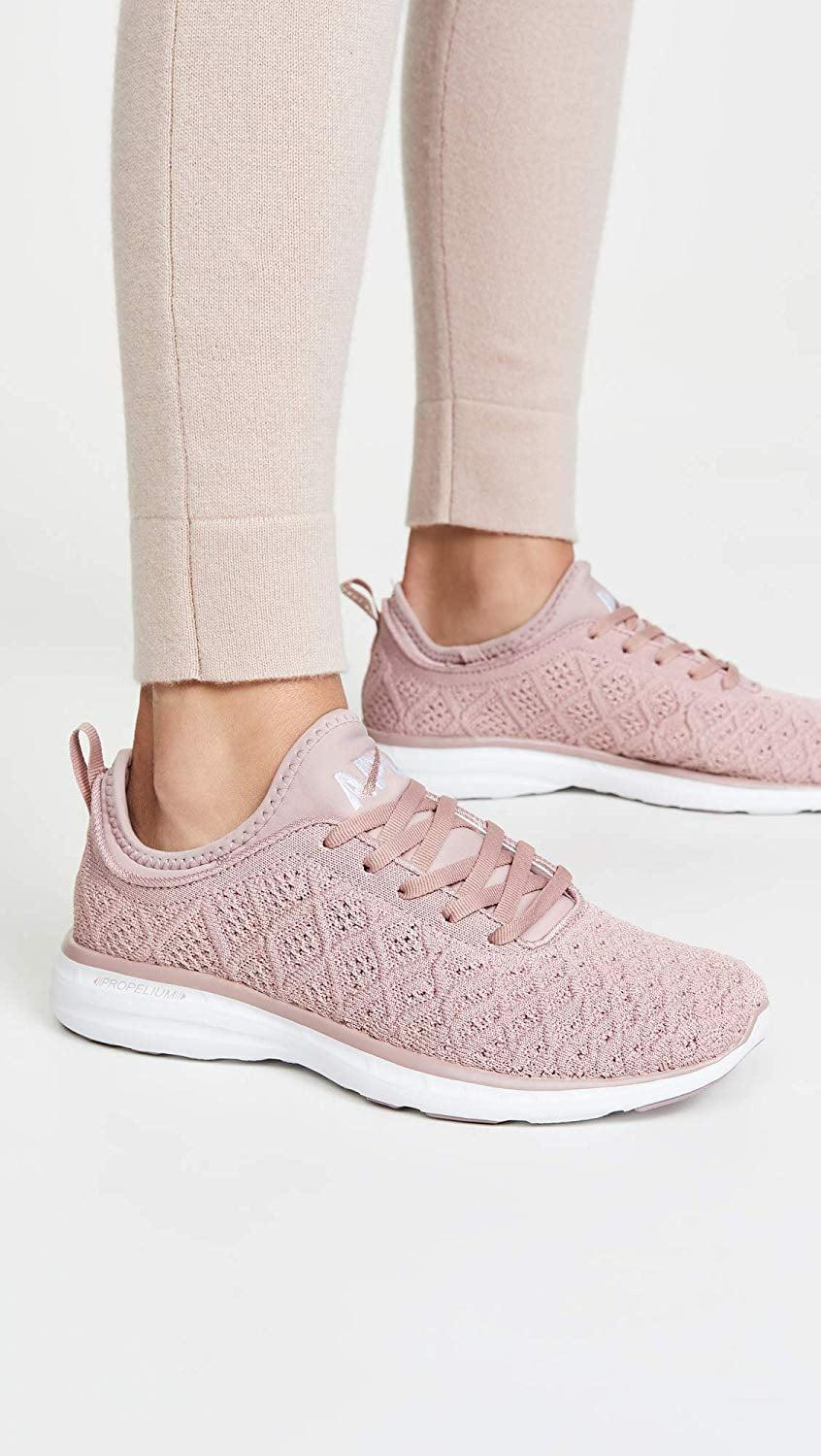 <p>How pretty and sophisticated are these <span>APL TechLoom Phantom Running Shoes</span> ($165)? If you're looking for a neutral ride, this is the shoe for you.</p>