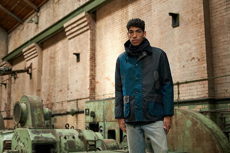 Barbour and End clothing team up for a sharp update on the classic Ashby jacket.