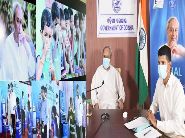 Chief Minister Naveen Patnaik during the inaugural event of