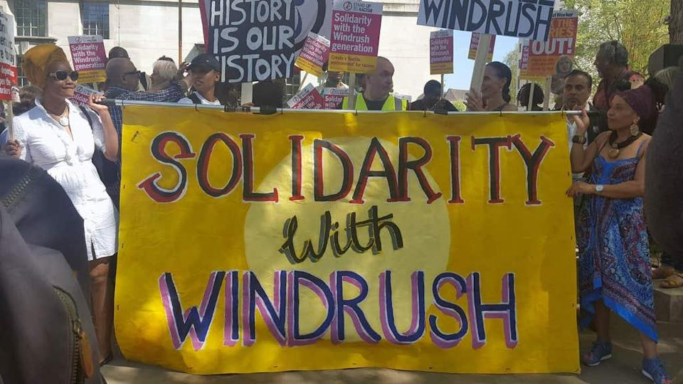 The Windrush Scandal continued to unfold.PA