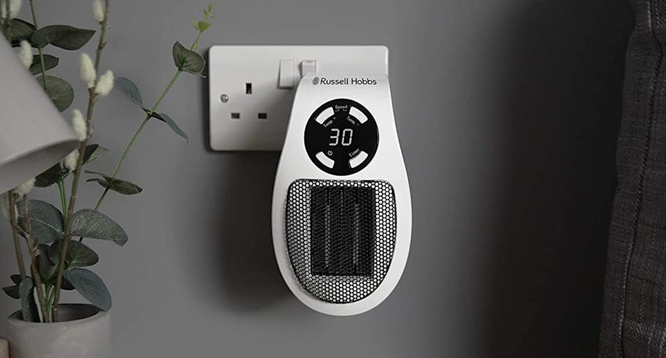 Looking for a small at-home heater? We may have just found the solution. (Russell Hobbs)