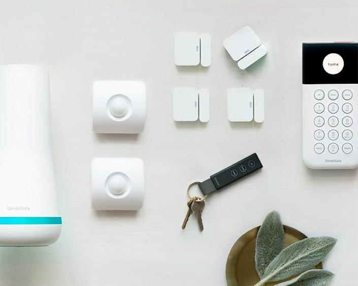 SimpliSafe's Essentials bundle comes with a base station, monitor, keypad, 3 entry sensors and a motion detector sensor. It's currently on sale for $181 – with a free HD security camera to sweeten the deal.