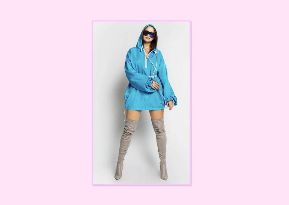"<p><a href=""https://bynadiaaboulhosn.com/collections/shop-the-line/products/hooded-coach-jacket-blue"" rel=""nofollow noopener"" target=""_blank"" data-ylk=""slk:Hooded Coach Jacket in Blue"" class=""link rapid-noclick-resp"">Hooded Coach Jacket in Blue</a>, $100, By Nadia Aboulhosn (Photo: By Nadia Aboulhosn) </p>"