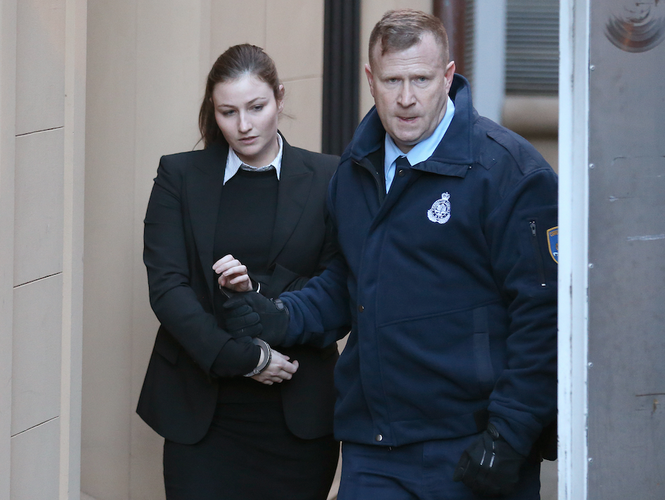 The Sydney socialite was jailed for four years for being an accessory to murder. Photo: AAP