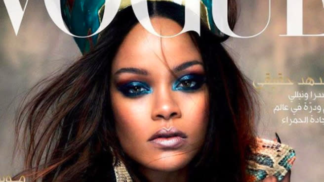 Some People Have A Major Problem With Rihanna's Vogue Arabia Cover
