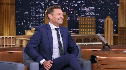 Ryan Seacrest explains why he's walking around NYC without socks. (Photo: NBC)