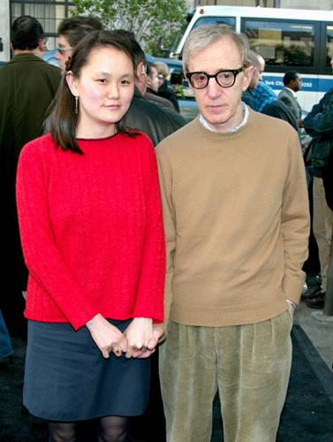 <p>Woody Allen marries his own step daughter, Soon-Yi Previn. Enough to make you puke that Woody Allen has a romance on the go, let alone with his own step daughter! Allen and Mia Farrow never married but were in a 12-year relationship and adopted two children together. Soon-Yi Previn was Farrow's adopted daughter from her relationship with Andre Previn. At the time that Soon-Yi, 22, and Woody, 56, got together the age difference was also a scandal.  The couple married in 1997 and have since adopted 2 girls.</p>