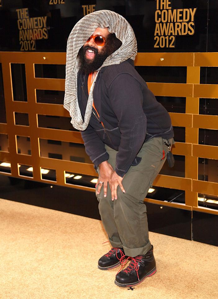 Reggie Watts attends The Comedy Awards 2012 at Hammerstein Ballroom on April 28, 2012 in New York City.