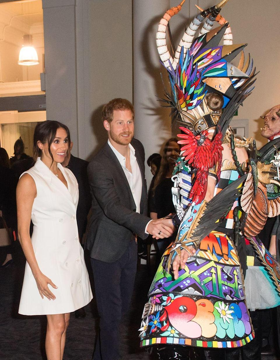 <p>The event at Courtnay Creative was in honor of the city's art scene. </p>