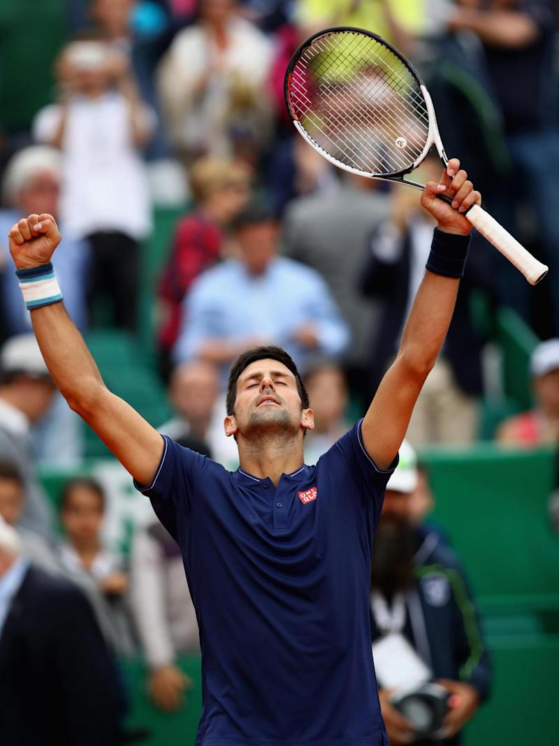 Djokovic looked relieved to eventually prevail (Getty)