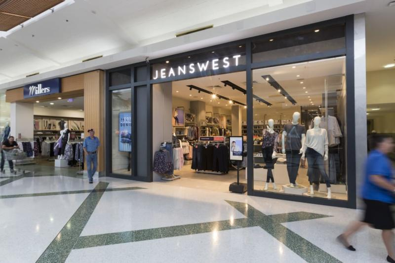 Jeanswest at a Westfield in Tuggerah. (Source: Westfield)