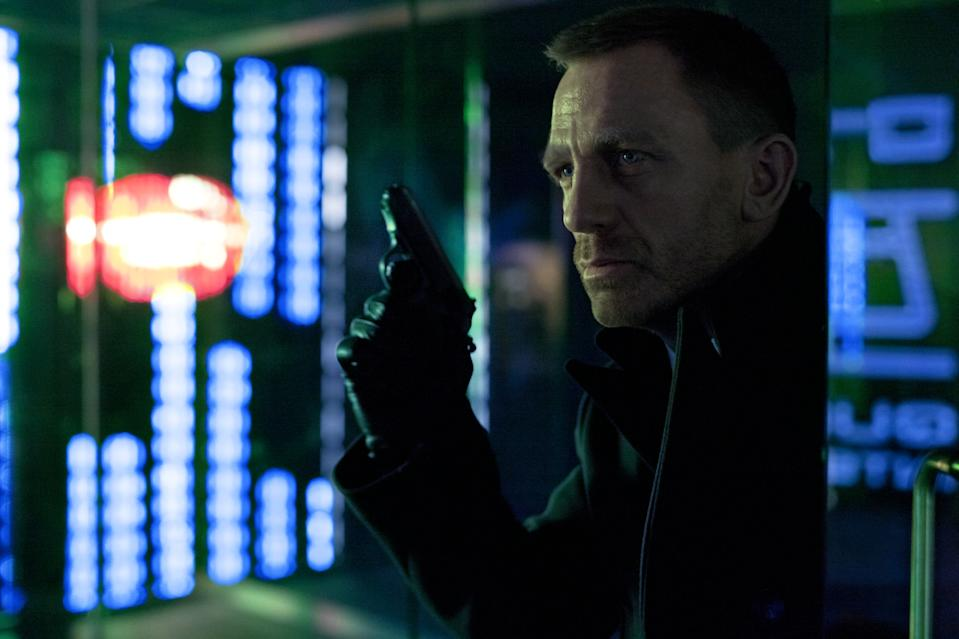 Daniel Craig as Ian Fleming's James Bond 007 in <i>Skyfall</i>. (Sony Pictures)