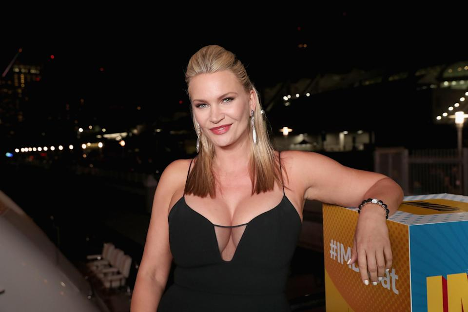SAN DIEGO, CA – JULY 21: Actor Natasha Henstridge attends the #IMDboat Party at San Diego Comic-Con 2017, Presented By XFINITY on The IMDb Yacht on July 21, 2017 in San Diego, California. (Photo by Rich Polk/Getty Images for IMDb)