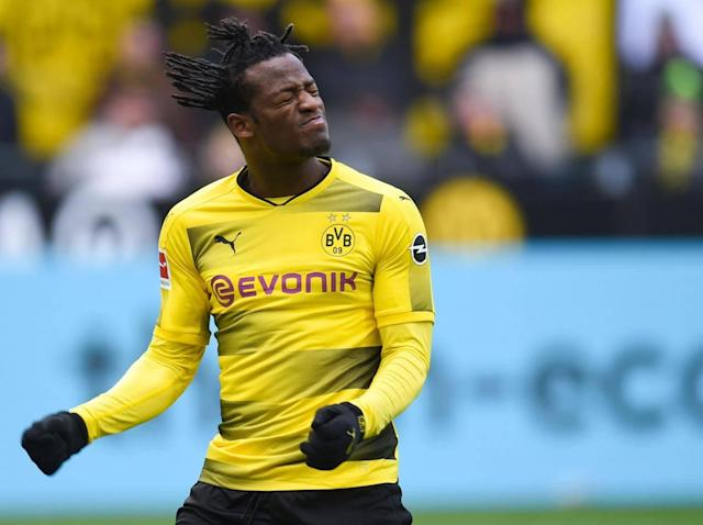 Batshuayi has six goals in seven Bundesliga games (Getty)