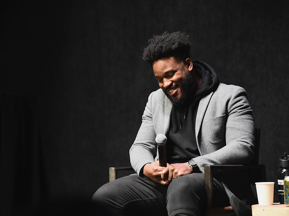 PARK CITY, UT - JANUARY 29:  Filmmaker Ryan Coogler speaks onstage during the Talent Forum Keynote With Ryan Coogler during the 2019 Sundance Film Festival  at The Ray on January 29, 2019 in Park City, Utah.  (Photo by Ilya S. Savenok/Getty Images)