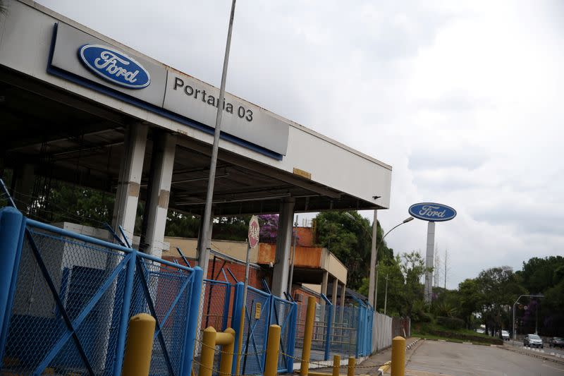 Ford's oldest Brazil plant is seen after the company announced its closure, in Sao Bernardo do Campo