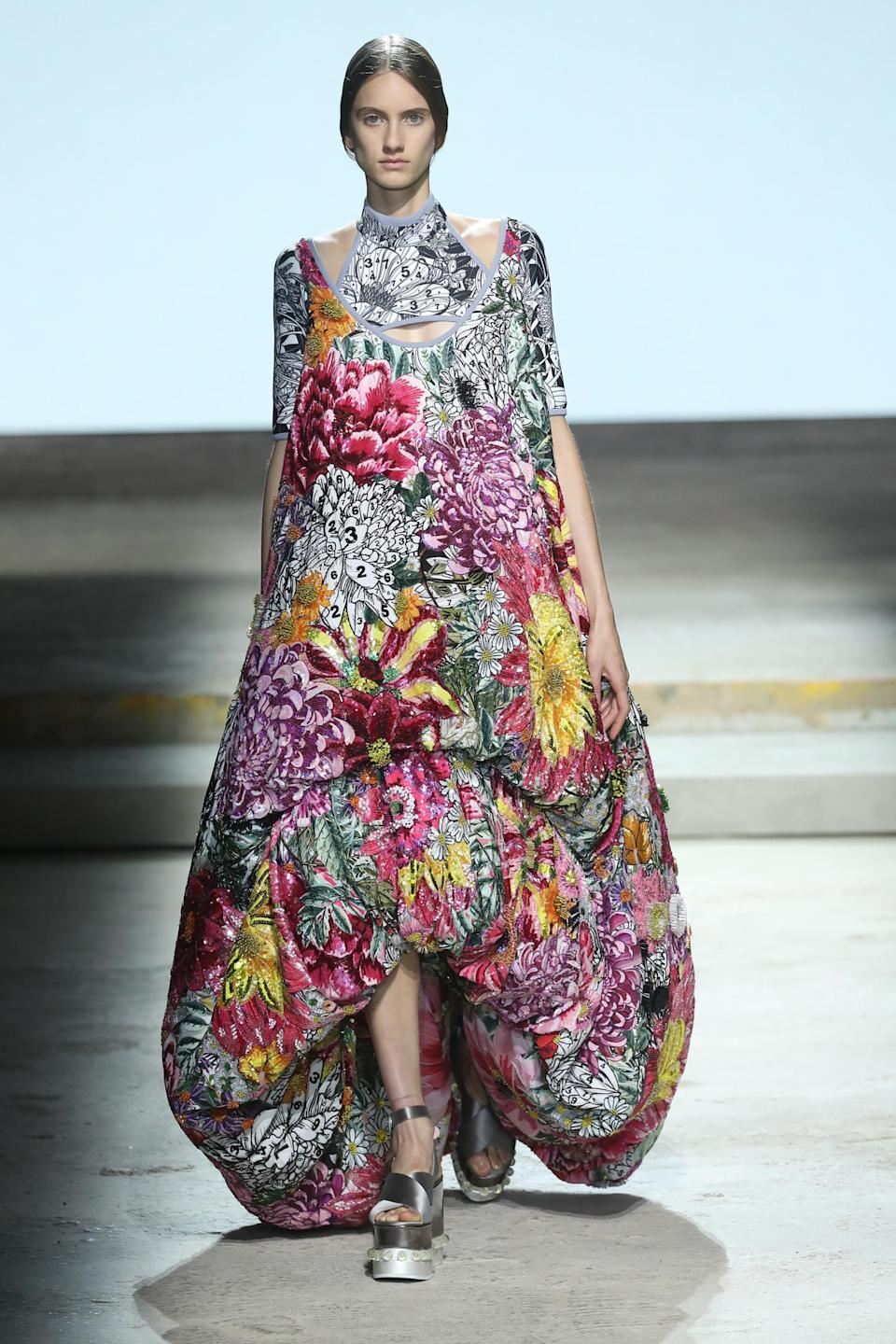 <p>Why bother growing a garden when you can just wear one? </p>