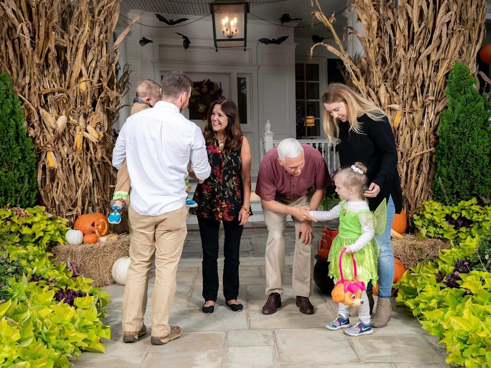 Halloween at the Vice President's Residence 2019