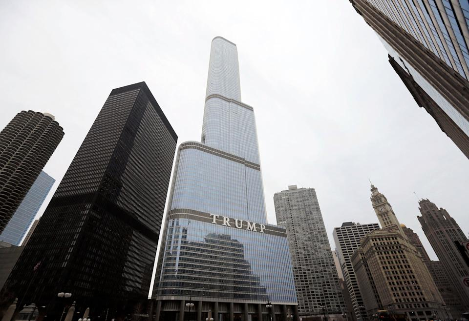 Trump Chicago Skyscraper (Copyright 2021 The Associated Press. All rights reserved.)