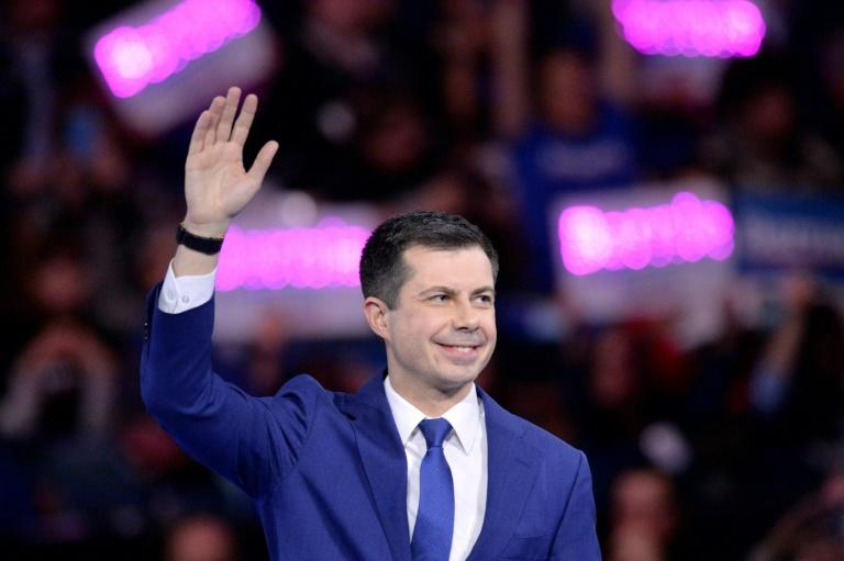 Democrat Pete Buttigieg is on the rise in his party's race for the presidential nomination, but Donald Trump has yet to find him a nickname that sticks (AFP Photo/Joseph Prezioso)