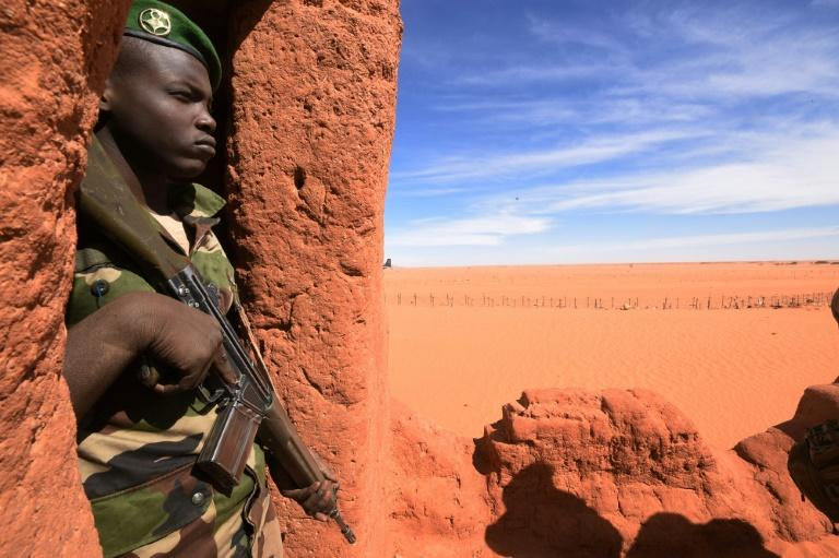 Sahel and African nations have long been at the sharp end of Libya's crisis (AFP Photo/DOMINIQUE FAGET)