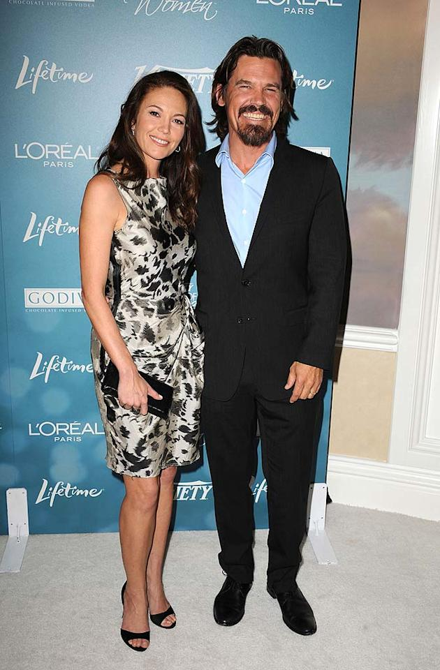 """An always elegant Diane Lane, who was recognized for her philanthropic efforts with Heifer International, brought her handsome hubby Josh Brolin to the event. Steve Granitz/<a href=""""http://www.wireimage.com"""" target=""""new"""">WireImage.com</a> - September 30, 2010"""