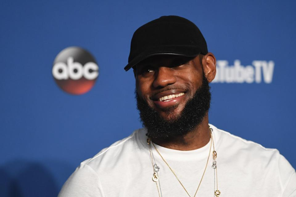 LeBron James is taking full advantage of his home in Los Angeles. (Getty Images)