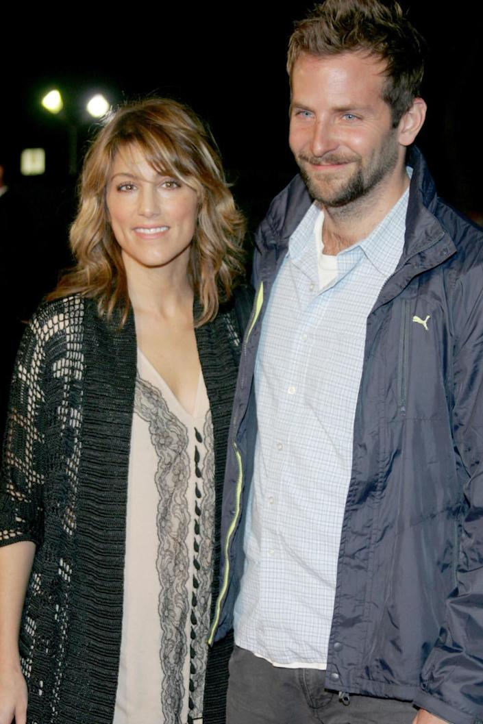 Exes: Jennifer Esposito and Bradley Cooper pictured in 2006 (Frazer Harrison/Getty)